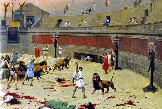 Les supplices infligés à nos frères et sœurs chrétiens par les Romains sont indescriptibles tant ils ont été cruels. Pire, ils ont servi de spectacle à des gens dépourvus de pitié et d'empathie et prenant plaisir à la torture et à la souffrance - 300 ans!