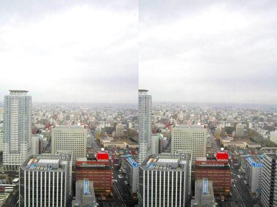 札幌のねずみ色の朝