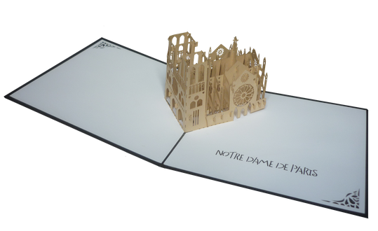 Carte Pop-Up Notre Dame de Paris