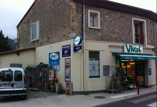2015 Google Street view: l'épicerie remplace le garage