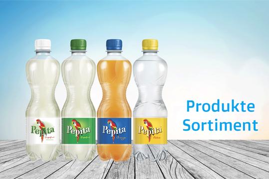 Pepita Produkte Sortiment