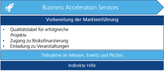 SME Instrument Business Acceleration Services Übersicht
