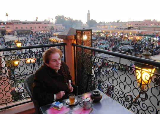 Bettina in Marrakech, 2013