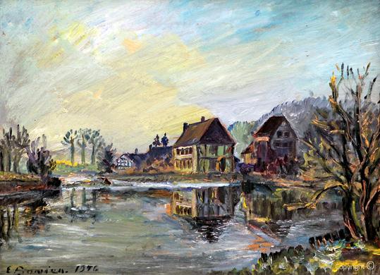 Erwin Bowien ( 1899-1972): Der Balkhauser Kotten, 1946