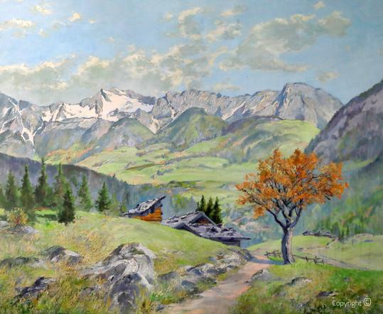 Robert Engels (1866-1926):  Der wilde Kaiser, undatiert