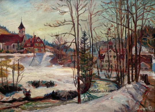 Erwin Bowien (1899-1972): Kreuzthal Einsenbach, Februar  1944