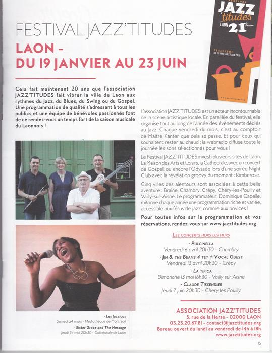 "Magazine ""Vers l'Aisne"" printemps 2018"