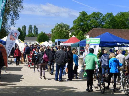 Schauen, Stöbern und sich informieren auf dem 18.  Paderborner Fahrradtag © Tourist Information Paderborn