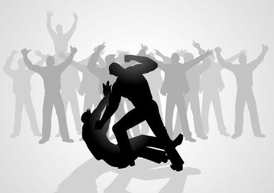 Kein Opfer sein, kein Opfer werden, Zivilcourage zeigen. Konflikt- und Anti-Mobbing-Coaching: Solingen, Düsseldorf, Köln, Wuppertal, Hilden, Haan, Langenfeld, Mettmann, Neuss, Duisburg, Mülheim Ruhr, Bochum, Leverkusen, Ratingen