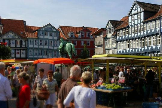 Wolfenbüttel Wochenmarkt