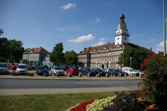 Ansicht des Schloss Wolfenbüttel