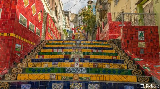 Treppen von Selaron, Rio de Janeiro