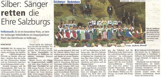 Artikel Salzburger Nachrichten