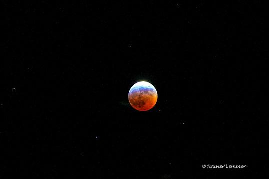 Mondfinsternis im Westerwald