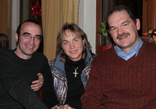 Der Vorstand der Bürgergemeinschaft: Gerald Modlinger, Ute Schübele-Weber (Vorsitzende), Leonhard Sedlmeir