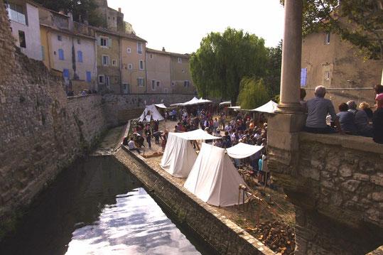 La fête médiévale 2017 de Pernes les Fontaines