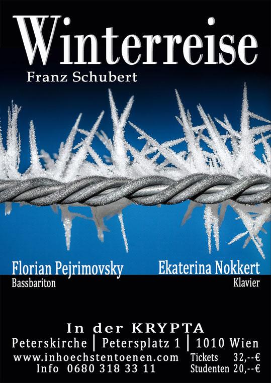 Winterreise - Franz Schubert   in der KRYPTA