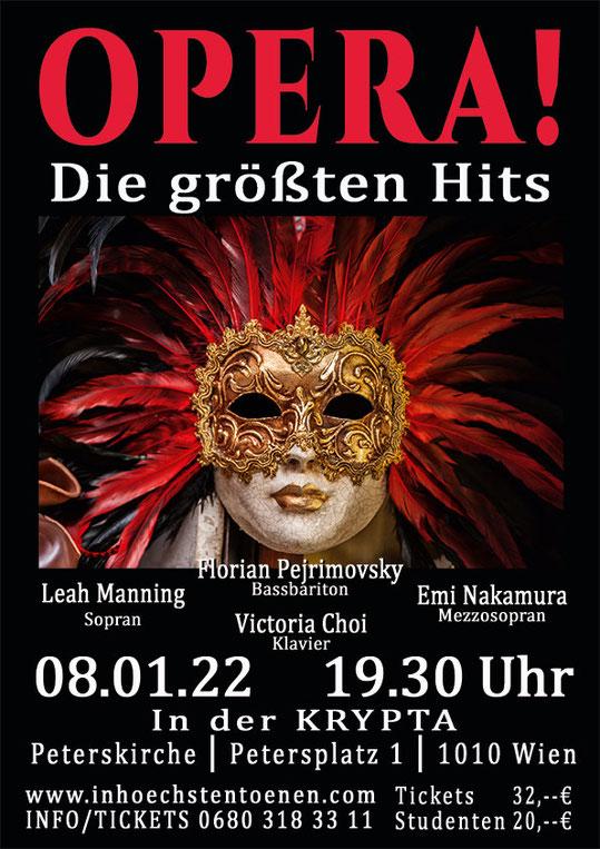 OPERA! - Die größten Hits   in der KRYPTA