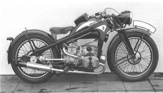 KKS500 1937-1938. N° Serie 17000 à 171820