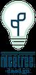 Logo nicetree.design Glühbirne Pflanze