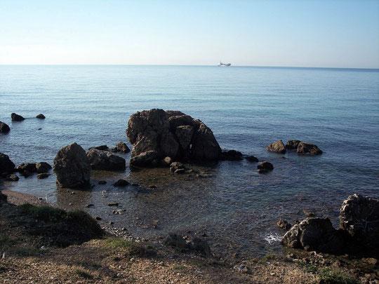 viale di antignano (scogliera con spiaggetta)