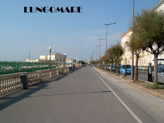 VIALE ITALIA (PASSEGGIATA LUNGOMARE)