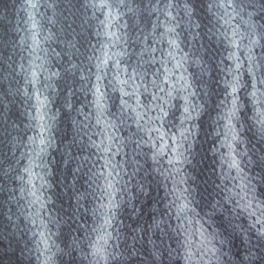 panta rhei-alles fließt  acryl auf hartfaser  80x80  2011