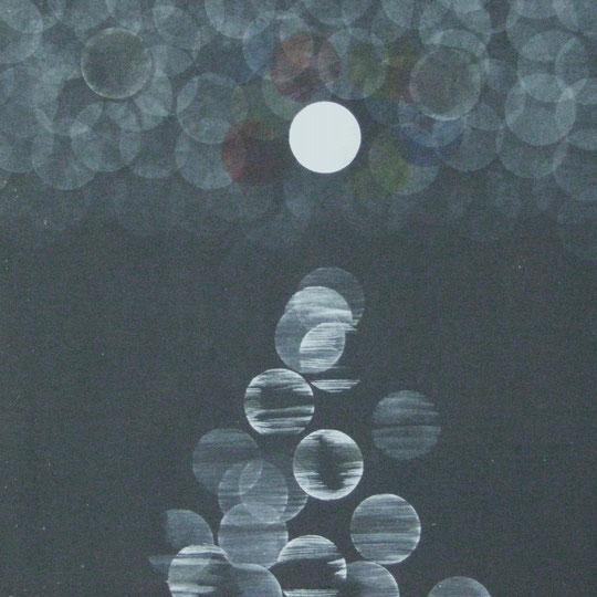122 acryl auf hartfaser  40x40  1/2013