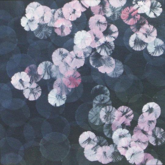 144 serie hanami acryl auf hartfaser 20x20 2013