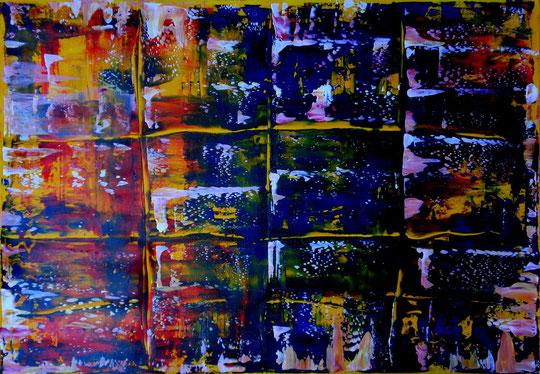 o.T., Acryl auf Lwd., 70x100, 2012  Nr.:12103