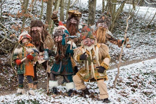 Zwerge - Hobbit Tour 2015