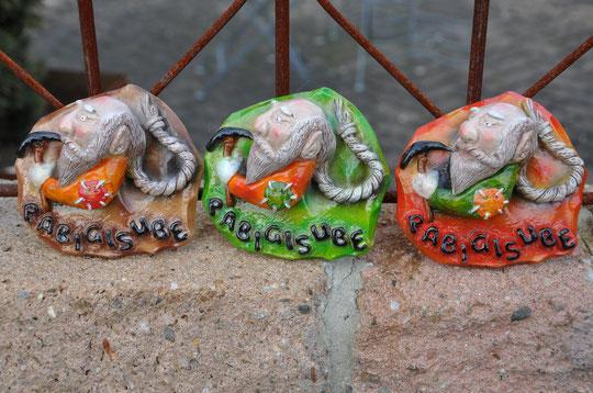 Zwerge - Hobbit Plaketten 2015