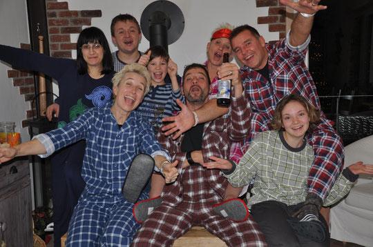 Silvester Pyjama Party 2014 / 2015