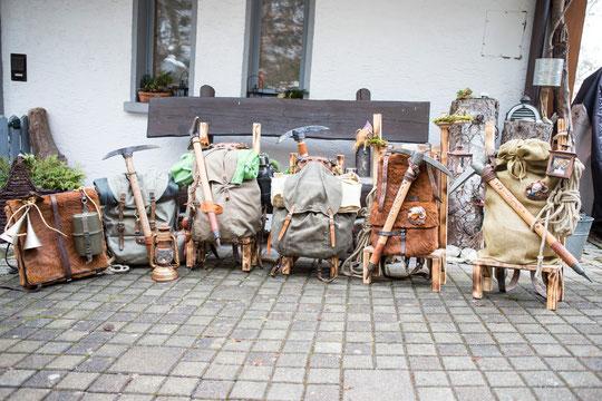 Equipment der Zwergen - Hobbit Tour 2015