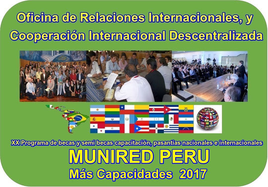 Relaciones Internacionales MUNIRED PERU