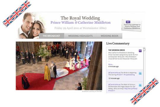 ロイヤルウェディング The Royal Wedding  Youtube