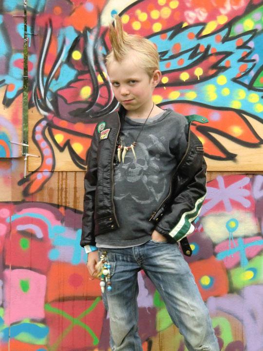 Jesse op het Breukpopfestival