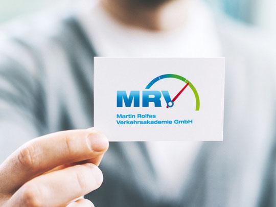 Logogestaltung für MRV Martin Rolfes Verkehrsakademie