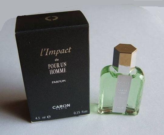 CARON - L'IMPACT DE POUR UN HOMME : PARFUM 4,5 ML
