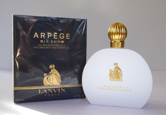 ARPEGE - GEL MOUSSANT  POUR LE BAIN : FLACON PLASTIQUE BLANC