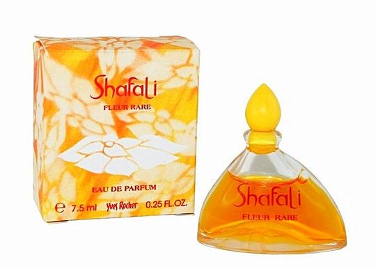 SHAFALI FLEUR RARE - EAU DE PARFUM 7,5 ML - BOUCHON PLASTIQUE JAUNE