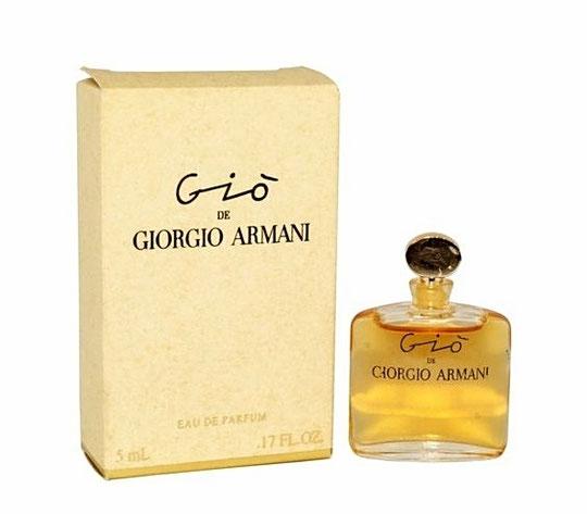 GIORGIO ARMANI - GIO : EAU DE PARFUM 5 ML