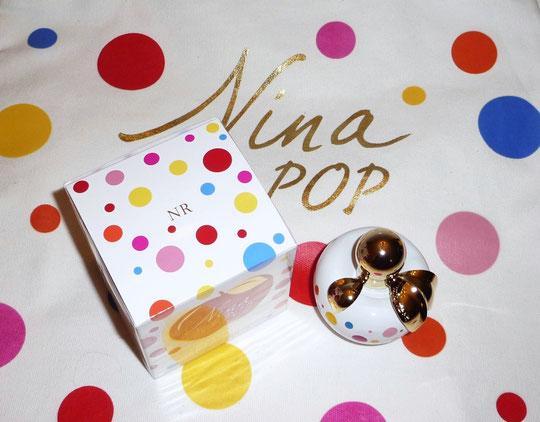 2016 - NINA POP, VAPORISATEUR EAU DE PARFUM 50 ML POSE SUR SAC NINA POP EN LIN
