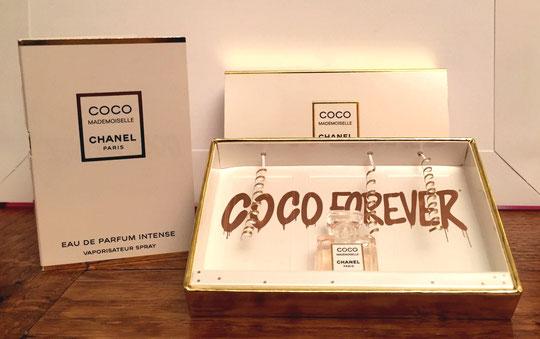 COFFRET COCO MADEMOISELLE OU COCO FOREVER : LE COFFRET ET SA MINIATURE - SORTIE NOËL ...