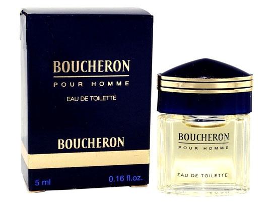 BOUCHERON - POUR HOMME EAU DE TOILETTE 5 ML - BOÎTE DIFFERENTE, BLEU MARINE