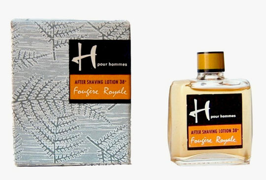 H POUR HOMMES - AFTER SHAVING LOTION : FOUGERE ROYALE
