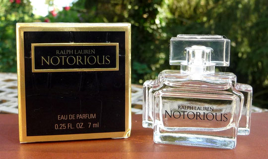2008 - RALPH LAUREN - NOTORIOUS : EAU DE PARFUM 7 ML