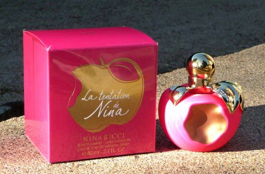 LA TENTATION DE NINA : FLACON EAU DE TOILETTE 80 ML