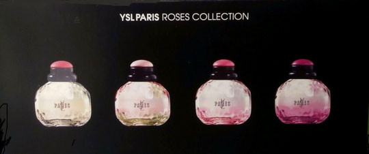 YSL PARIS : COFFRET ROSES COLLECTION - ARRIERE DU COFFRET