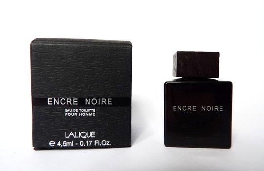 LALIQUE - ENCRE NOIRE : EAU DE TOILETTE POUR HOMME 4,5 ML